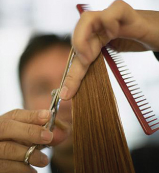 hair-cutting